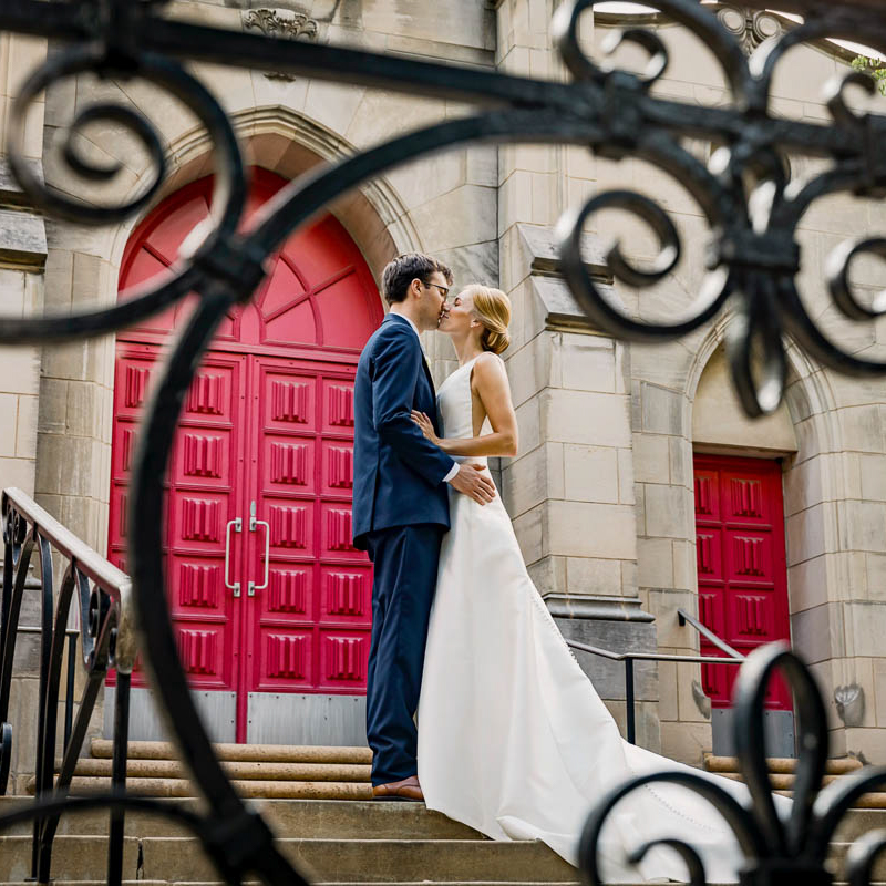Link into Greater St. Louis area wedding photography gallery: Grace and JT