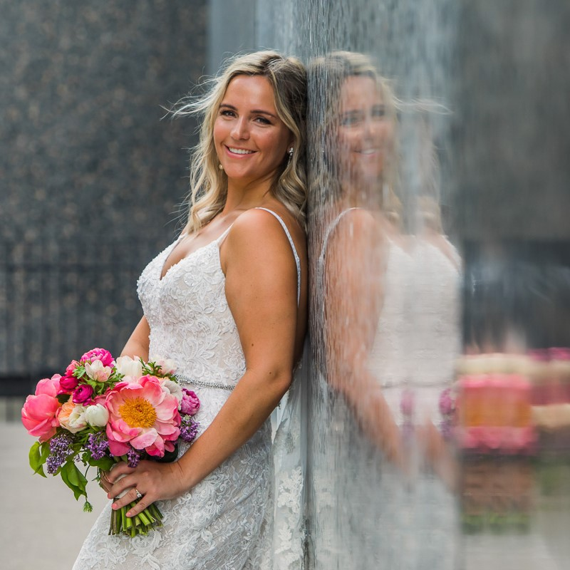 link to greater St. Louis area wedding photography gallery of Lucy and Michael
